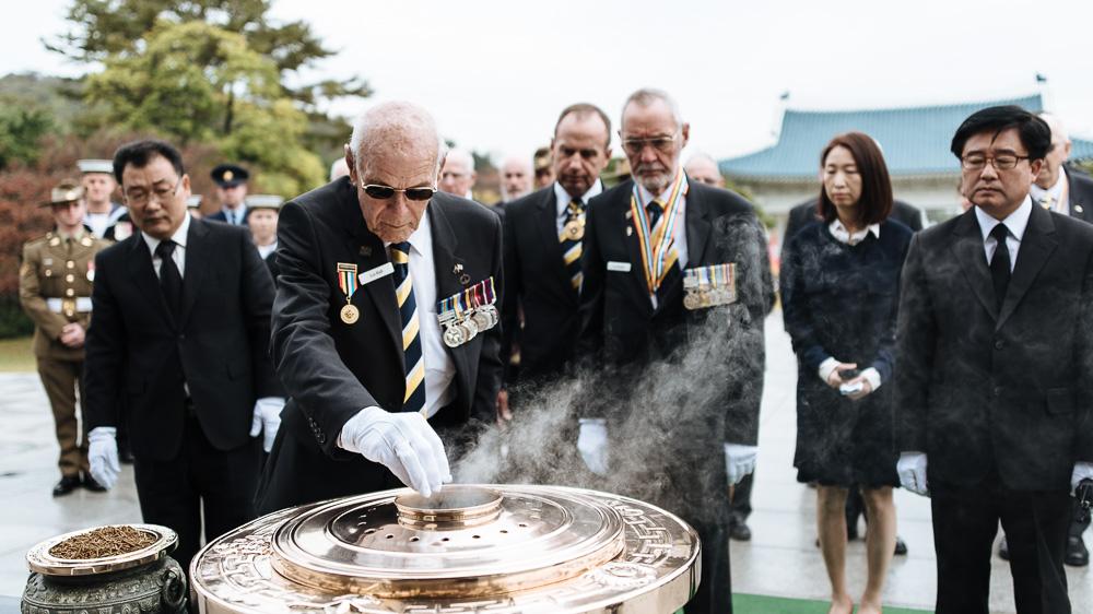 Seoul Event Photographer - Korean War Veteran