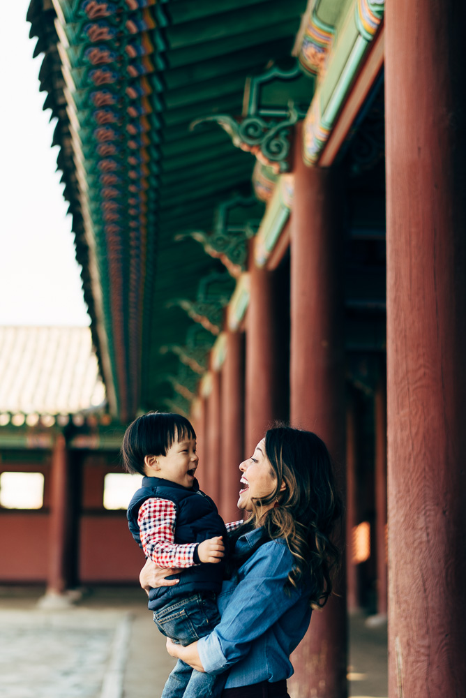 Family Photographer in Seoul, Korea