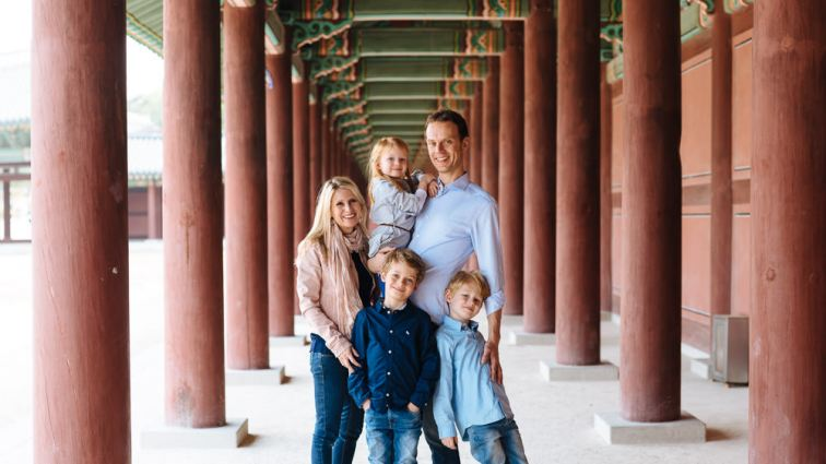 Elbracht Family - Seoul Photographer