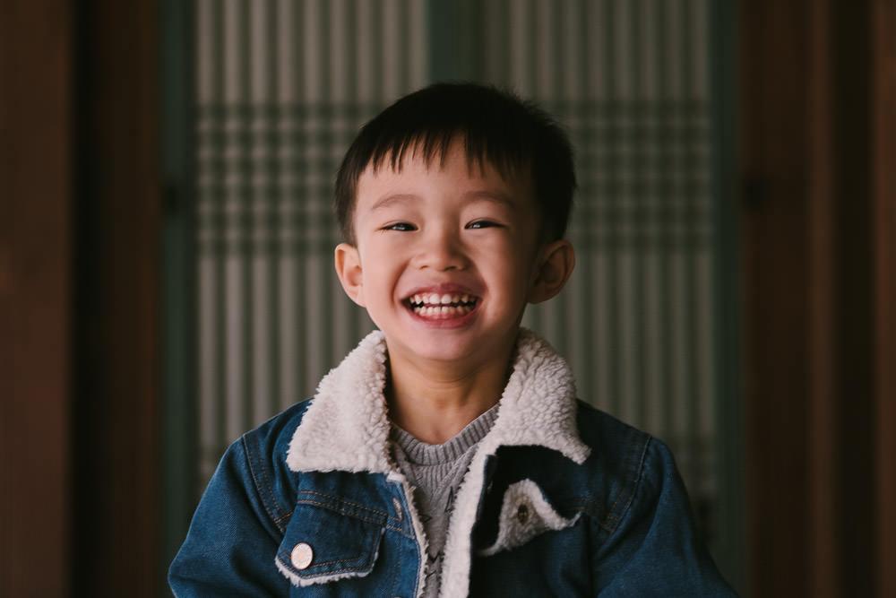 Autumn Family Photography Seoul