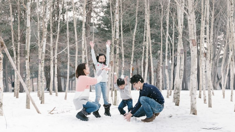 Family Photography Nami Island
