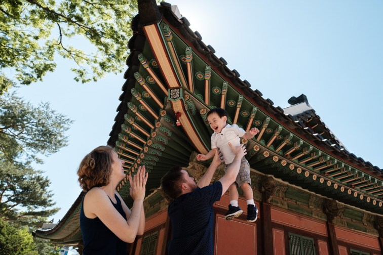 Dorsey Family Photography in Seoul