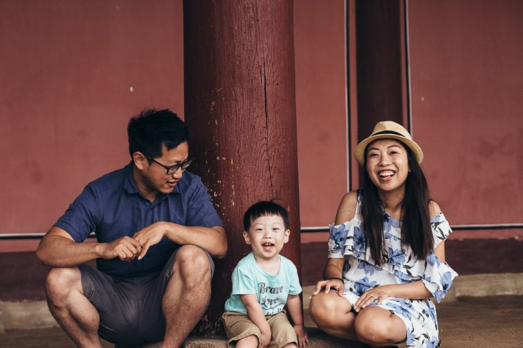 Family Portrait Photographer Seoul