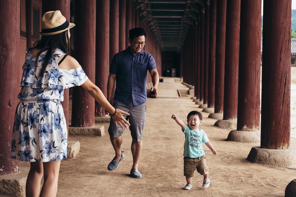 Family Portrait Photographer Seoul
