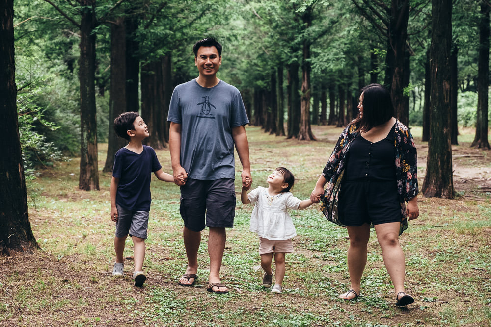 Family Photography World Cup Park Seoul