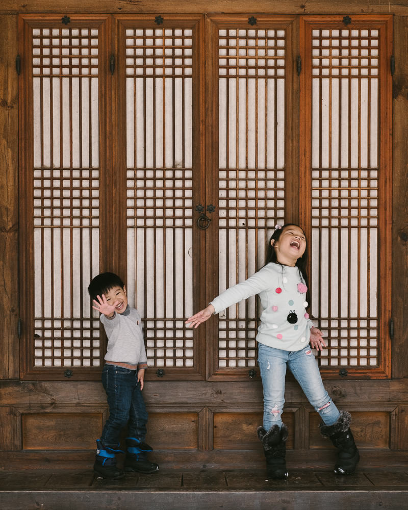Fun Family Photography Korea