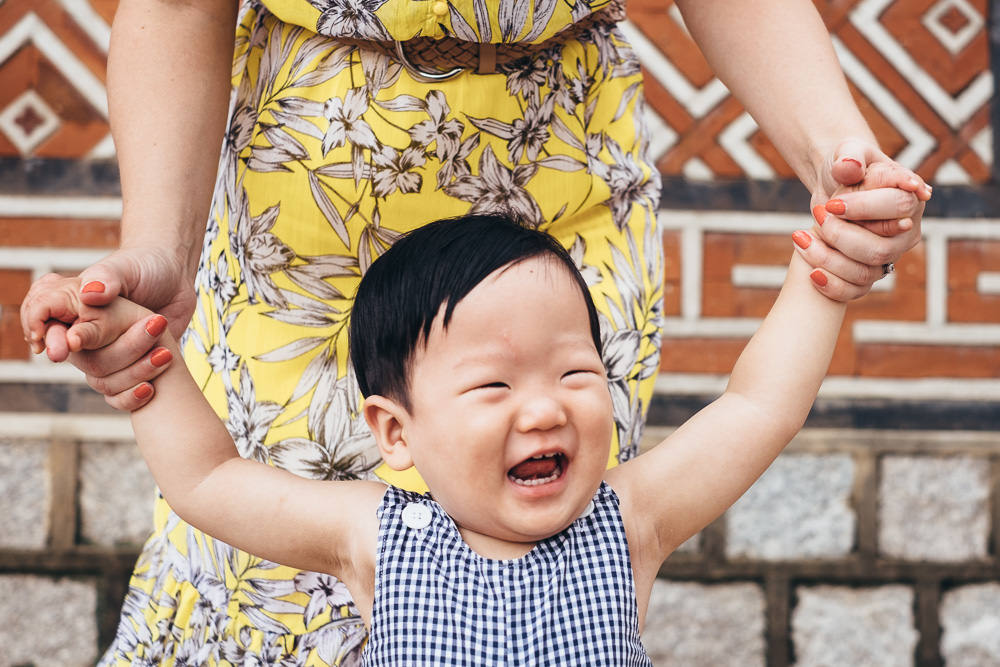 Family Phtoto session Seoul Korea Gyeongbokgung
