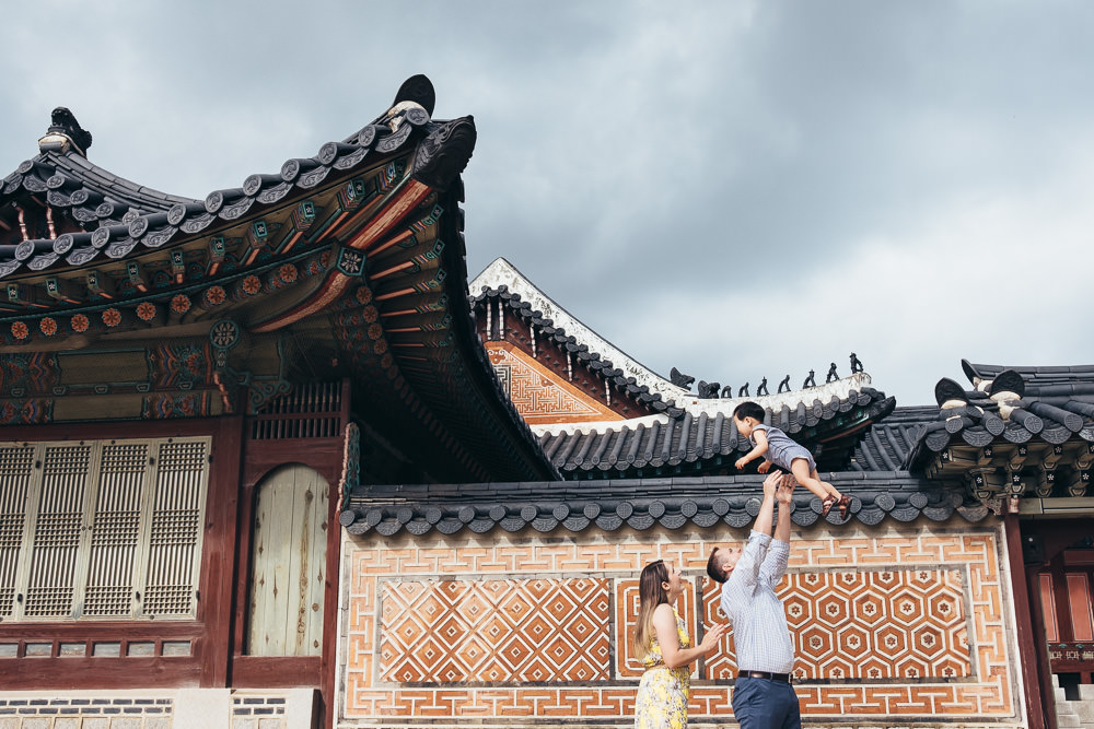 Family Photoshoot Seoul Korea Gyeongbokgung