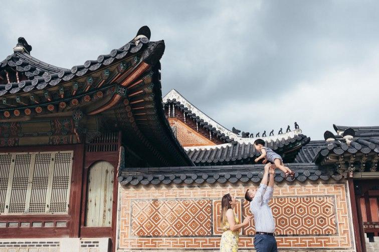 Family Photoshoot Seoul Korea Gyeongbokgung