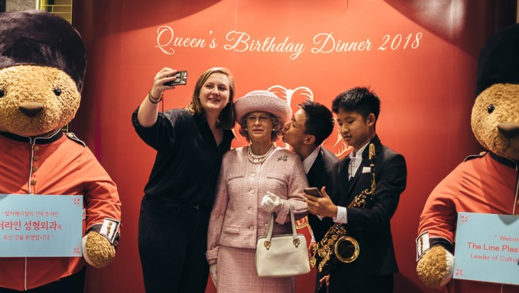 Seoul Event Photography - BCCK Queen's Birthday Ball 2018, Queen Elizabeth Wax Model