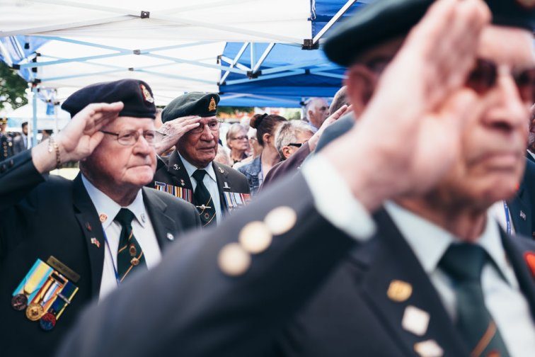 Event Photographer Korea - Canadian War Veterans