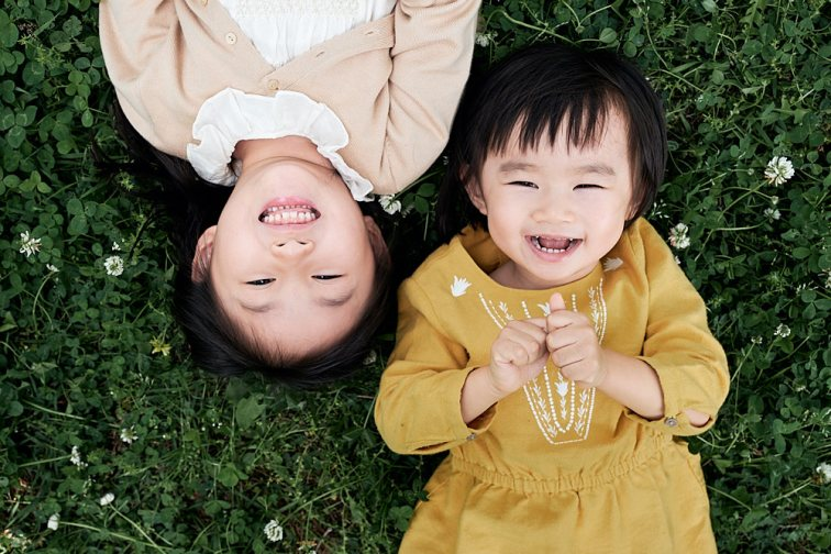 Young Family Portraits in Seoul