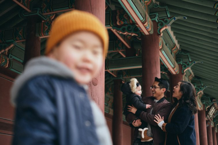 The Mangahas Family Photography Session at Changdeokgung