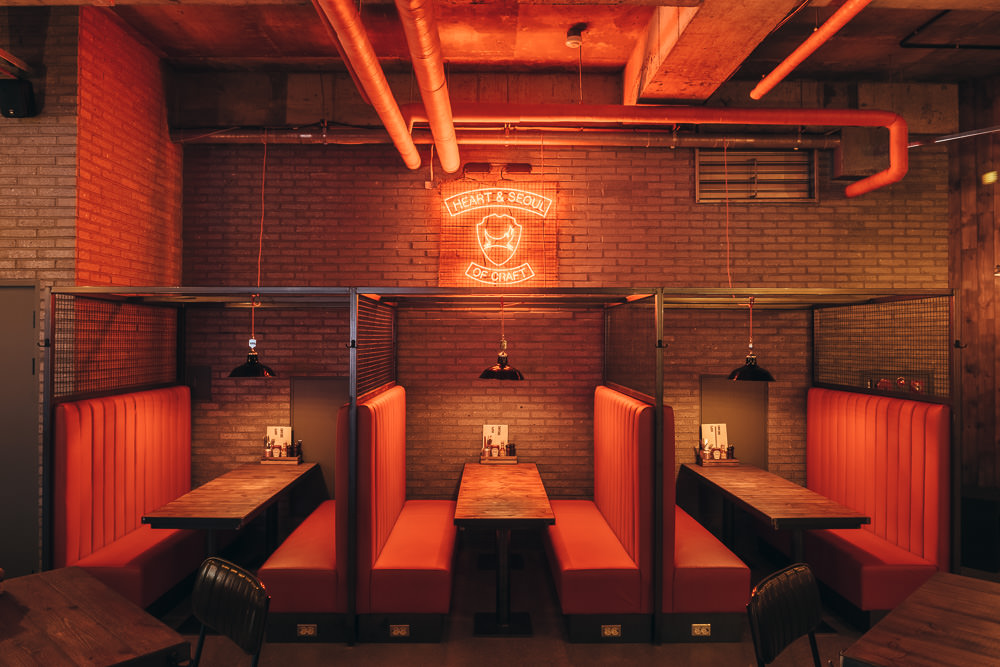 Commercial Photographer in Seoul - Brewdog Itaewon Outpost Interior