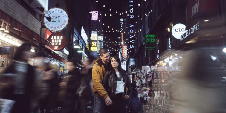 Myeongdong Couple Photography