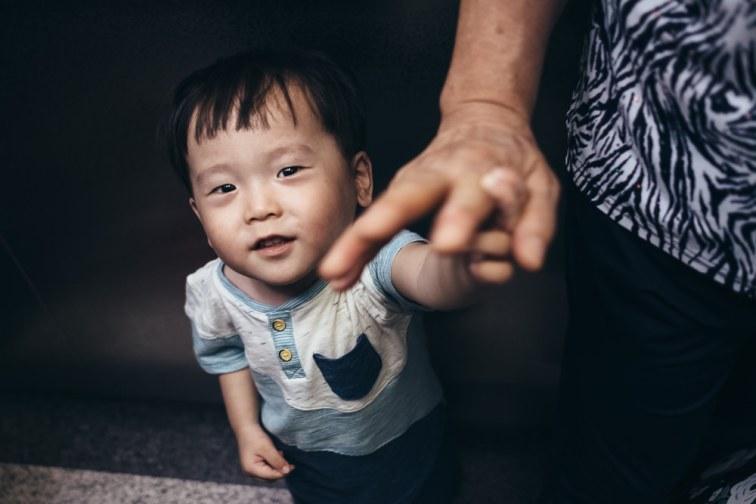 Adoption FIrst Meeting - Seoul Family Photographer