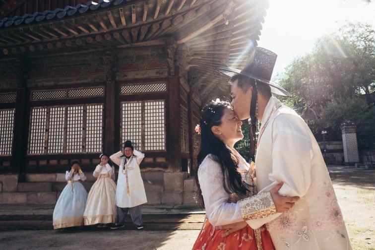 Hanbok Family Photography in Seoul - Summer Sunlight