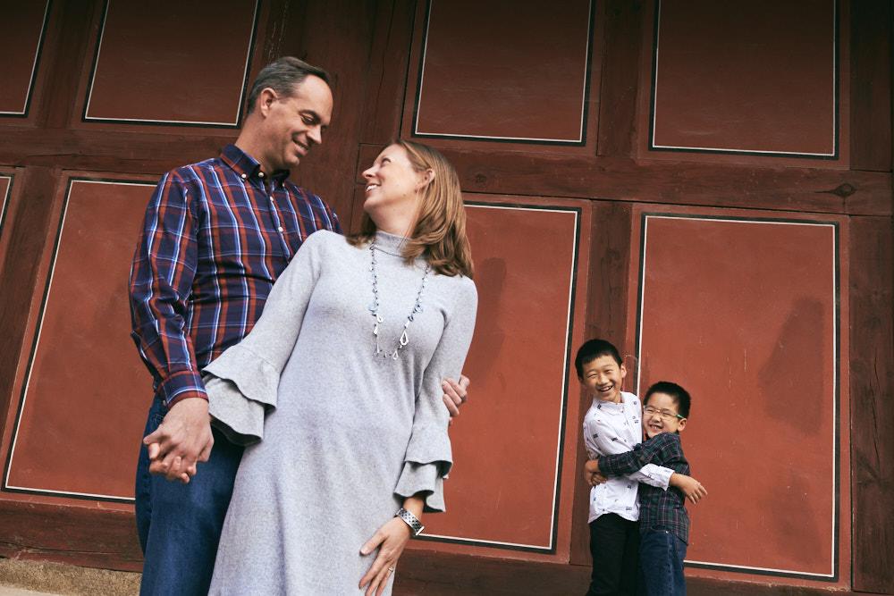 Seoul, Korea, Family Photographer - Ashcraft Family Lifestyle Session at Changgyeonggung
