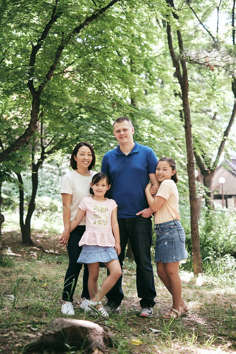 Miles Family Photos, Seoul, Korea