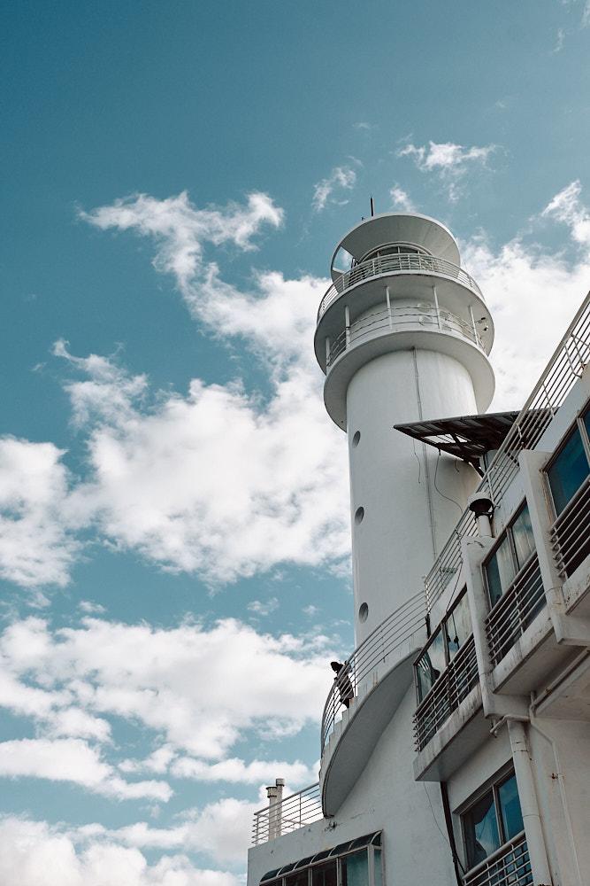 Oryukdo Lighthouse Looking up