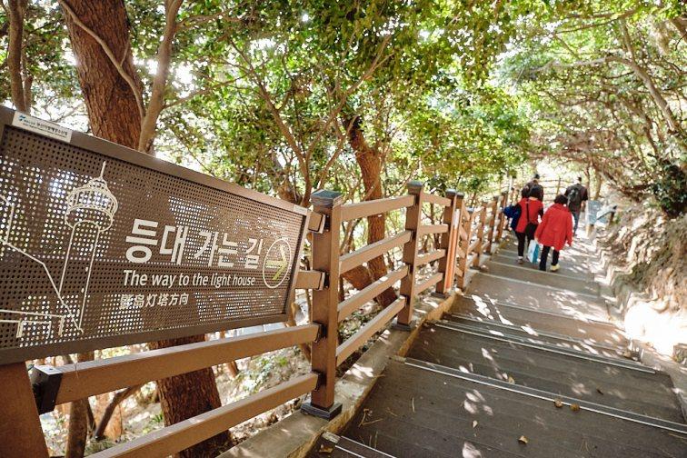The Steps to Yeongdo Lighthouse