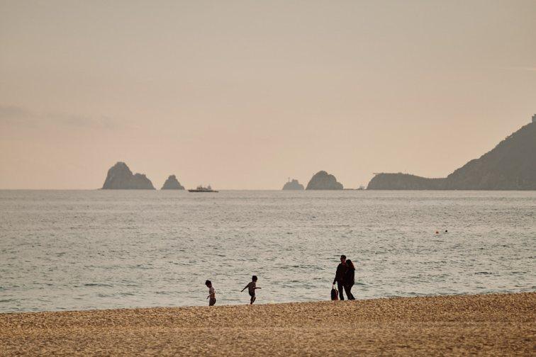 Haeundae Beach, Seagull Path, Busan