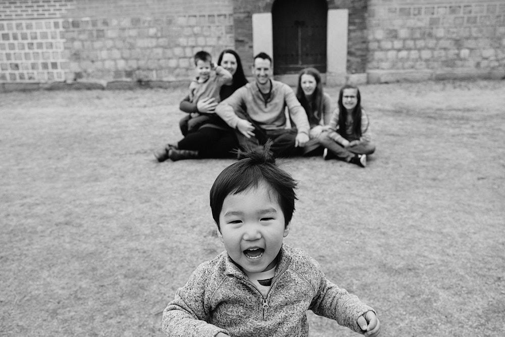 Bruno Family Portraits - Gyeongbokgung, Seoul