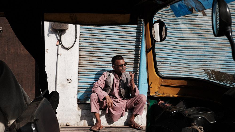 Auto Rickshaw Driver, Varanasi, India