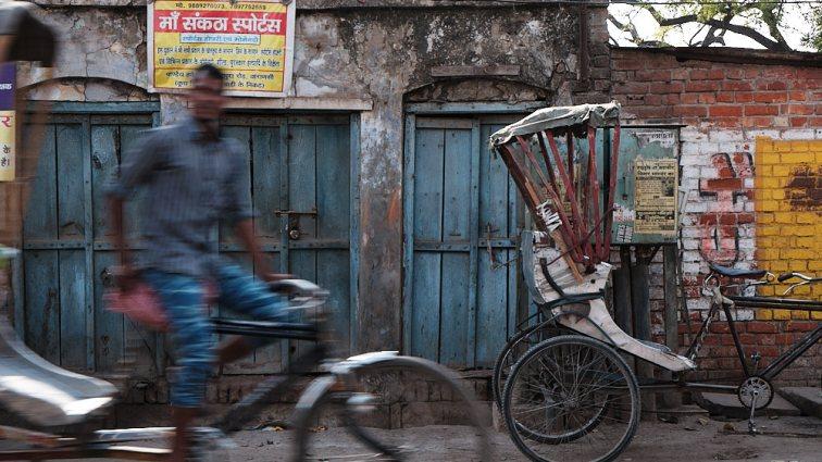 Rickshaws, Varanasi, India