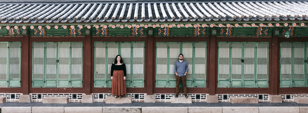 Mae and Kyle - Couple Photos at Gyeongbokgung