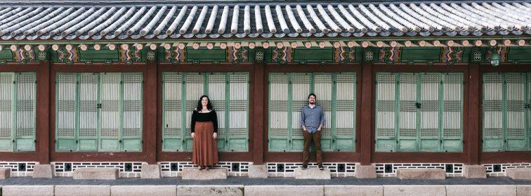 Mae and Kyle - Couple Photos at Gyeongbokgung