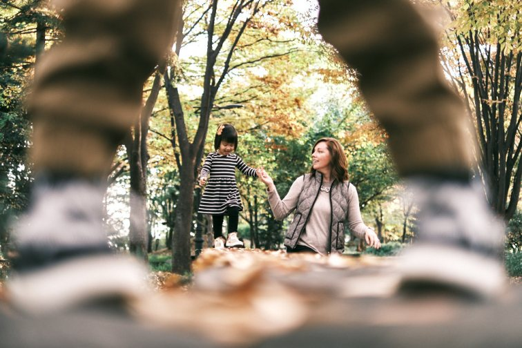 Namsan Park Family Photography with the Stamets
