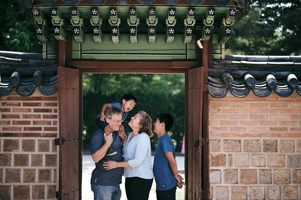 Family Portraits in Seoul - Turpie
