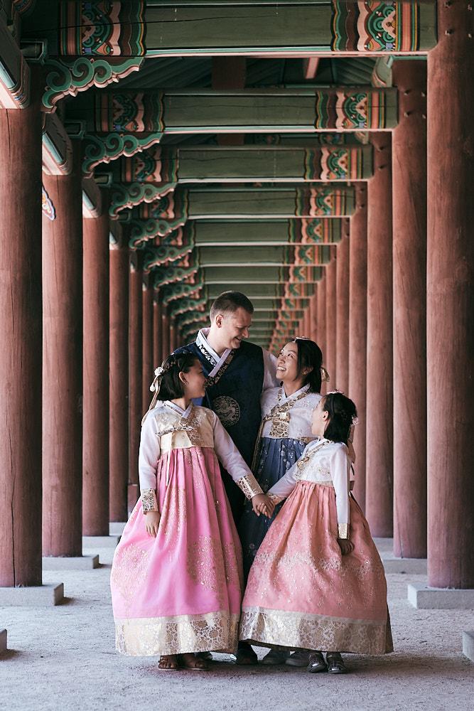Hanbok Family Portraits - Miles