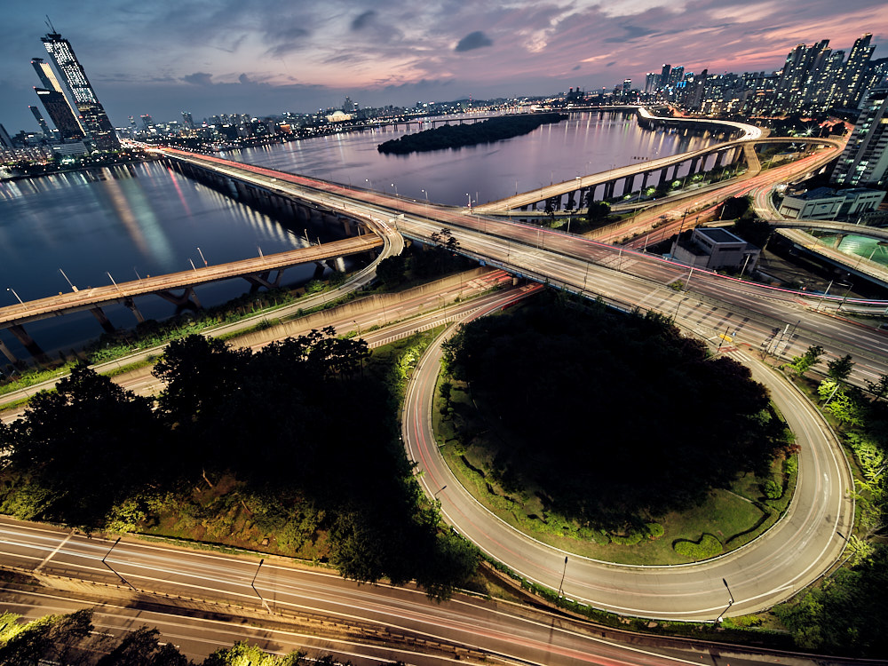 Laowa 17mm f/4 Fujifilm GFX - Seoul Rooftop