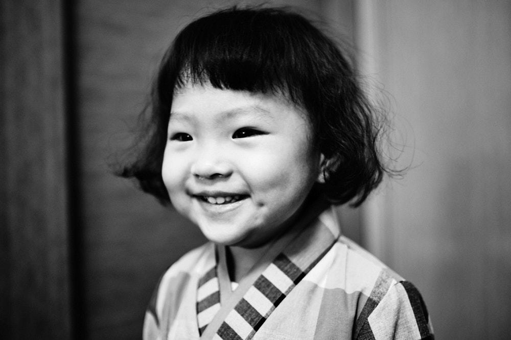 Selah's Smile Lights up the Room - Korea Adoption Custody Photography