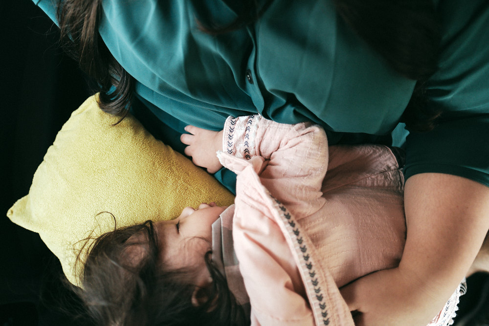 Asleep - Korea Adoption Custody Photography