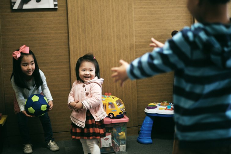 The Siblings - Korea Adoption Photography