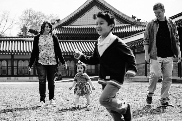 The Russel Tribe - Family Photography Seoul