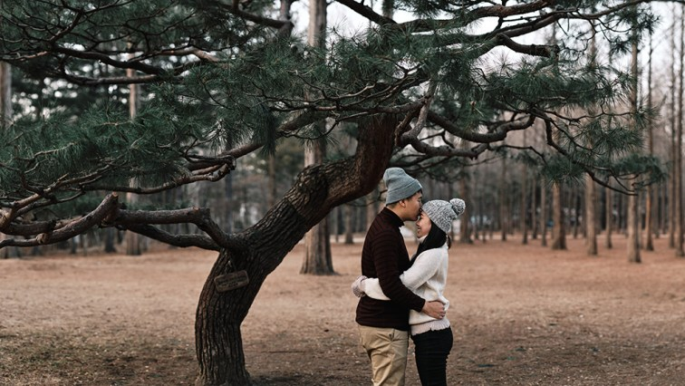 Nami Island Proposal and Pre-Wedding inWinter