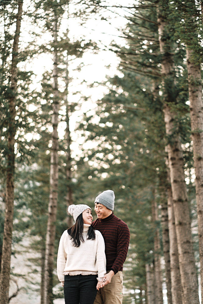Nami Island Proposal and Pre-Wedding inWinter