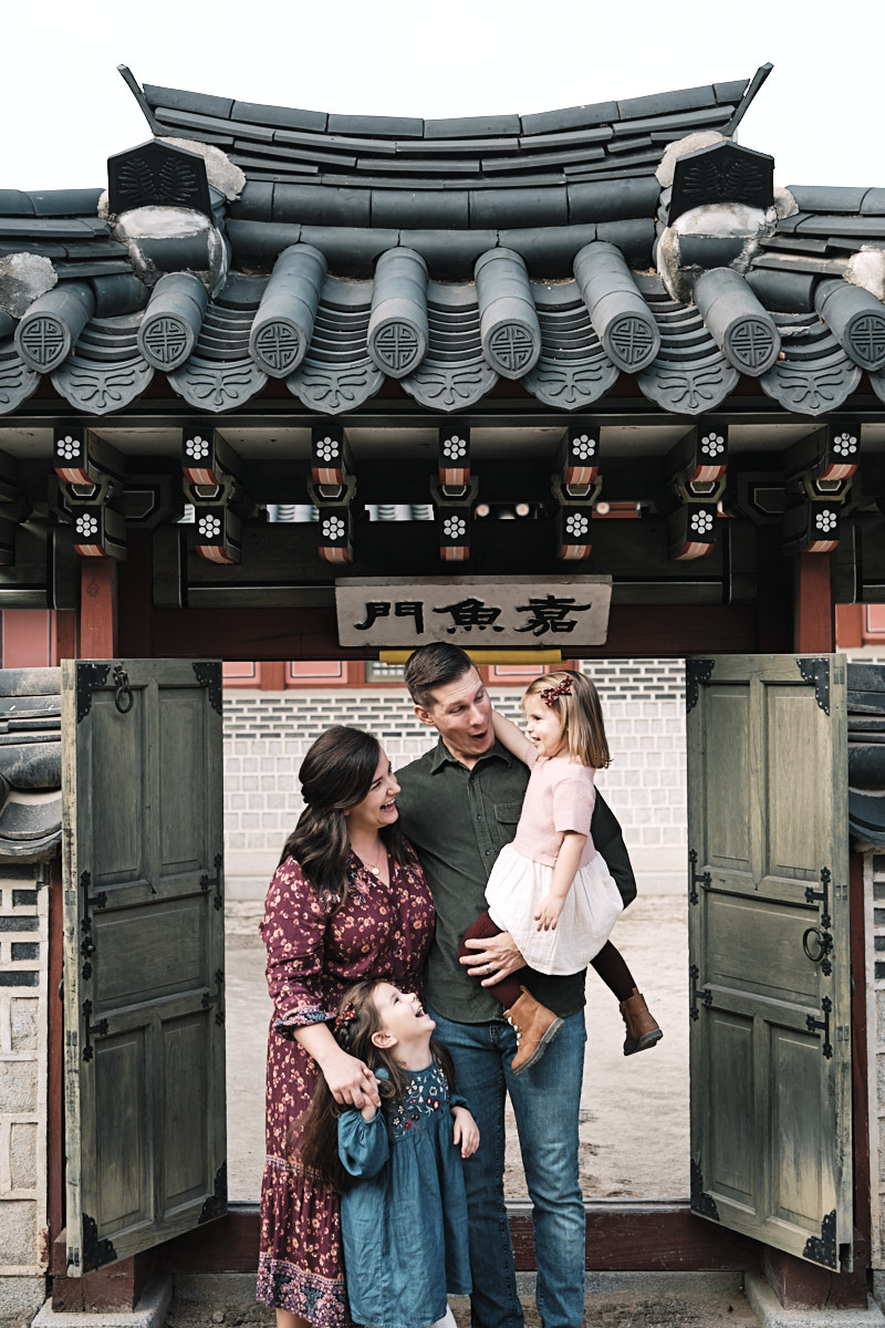 Family Photo Shoot - McKeegan Suwon Haenggung