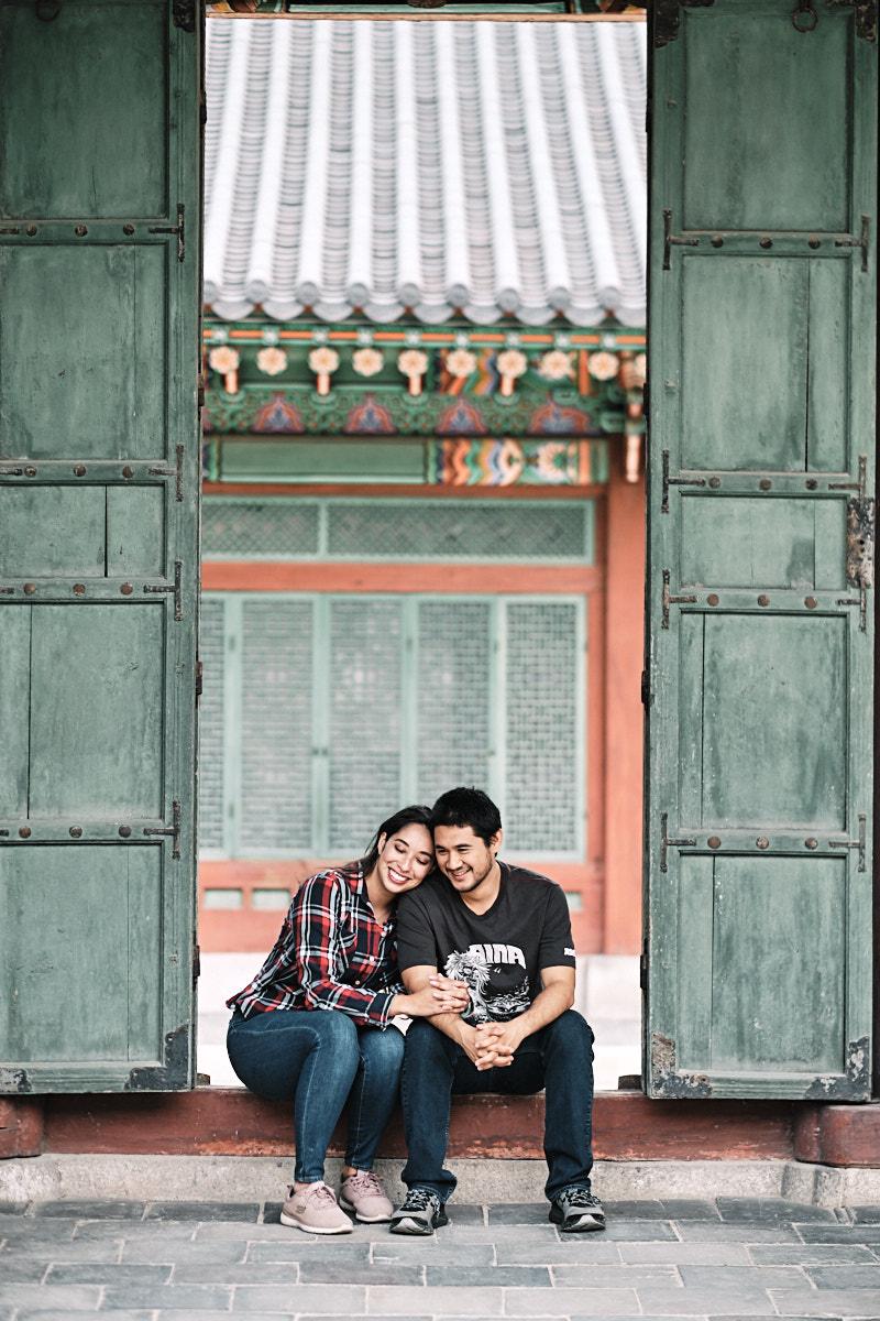 Seoul Couple Photo Shoot - Kristi and Kelson