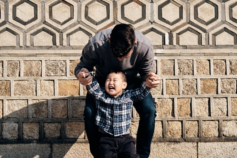 Bokyeom and Dad