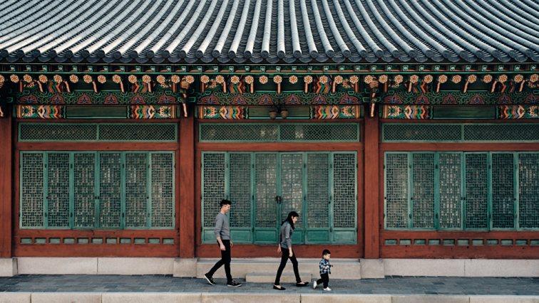 Family Walk in Changdeokgung