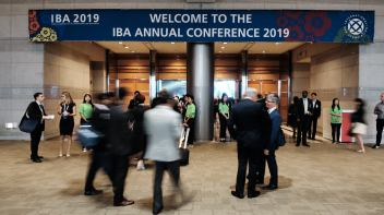 Guests Arriving - IBA 2019 Seoul Conference Event Photography