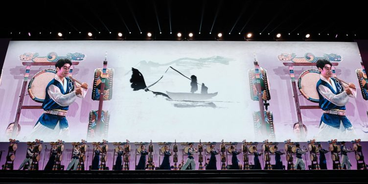 Korean Drumming Performance - Event Photographer