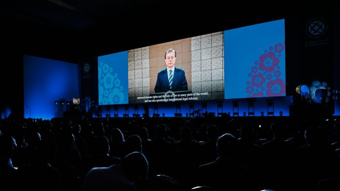 Korean President Moon Jae-In Welcoming Speech - IBA Seoul 2019