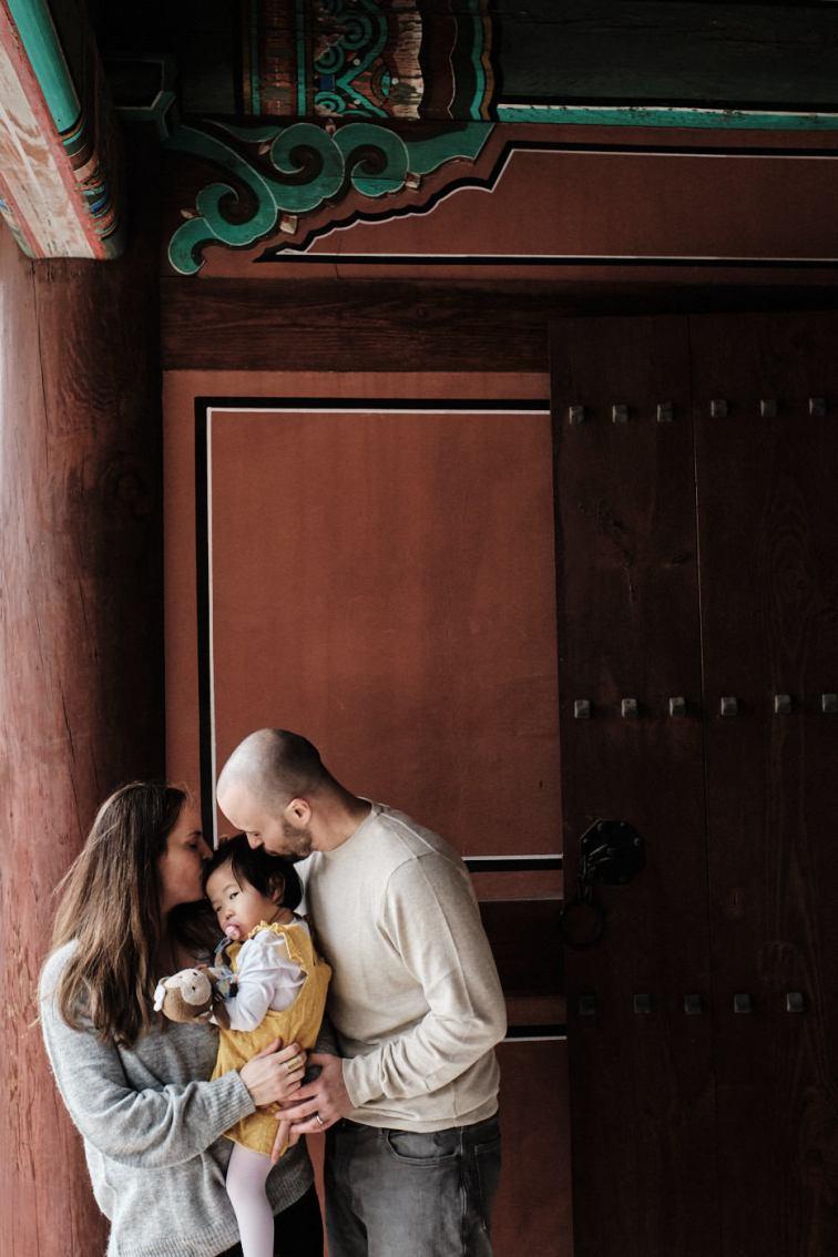 Seoul Palace Family Photos