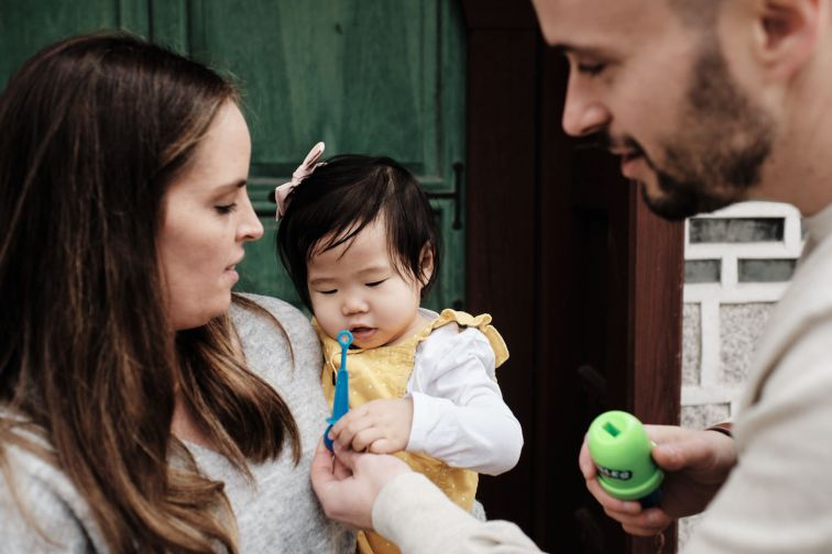 Osbeck Family Post-Custody Photos